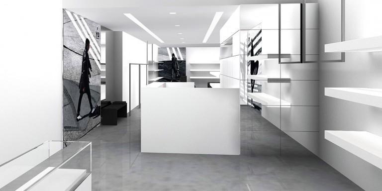 Adidas Y-3 New York Store