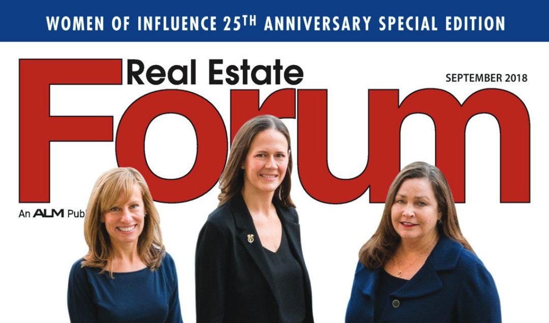 Kenne Shepherd Welcomed into Real Estate Forum's 2018 Women of Influence Hall of Fame